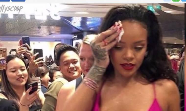 Rihanna: Τα πήρε με τους θαυμαστές της