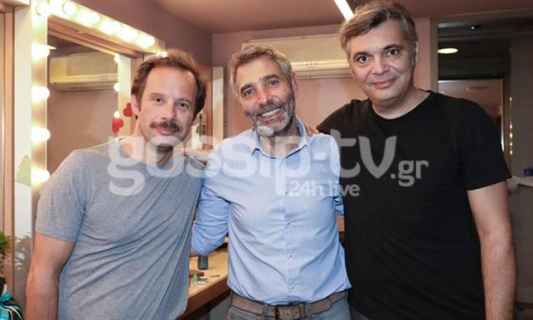 Αθερίδης-Κούρκουλος-Πυρπασόπουλος: «Σαρώνουν» στη σκηνή!