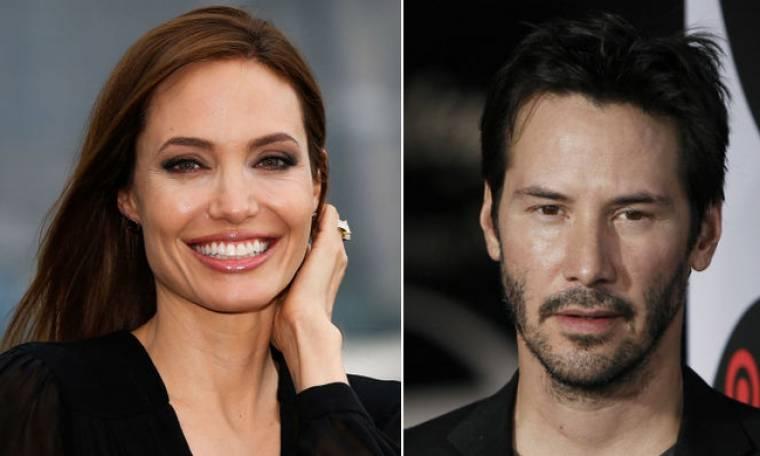 Jolie- Reeves: Ο έρωτάς τους «γεννήθηκε» στην Ελλάδα