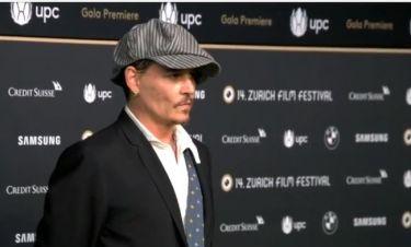 Τζόνι Ντεπ: Η πρεμιέρα της ταινίας «Richard Says Goodbye» και οι... θαυμαστές του