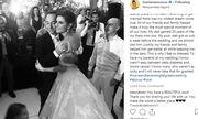 Συγκινεί η Maria Menounos δυο μέρες μετά το γάμο! «Δεν ήταν εύκολο να έχω τους γονείς μου στον γάμο»