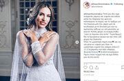 Αθηνά Οικονομάκου: Οι αδημοσίευτες φωτογραφίες από το γάμο και το μήνυμα:«γιατί το περνάω όλο αυτό;»
