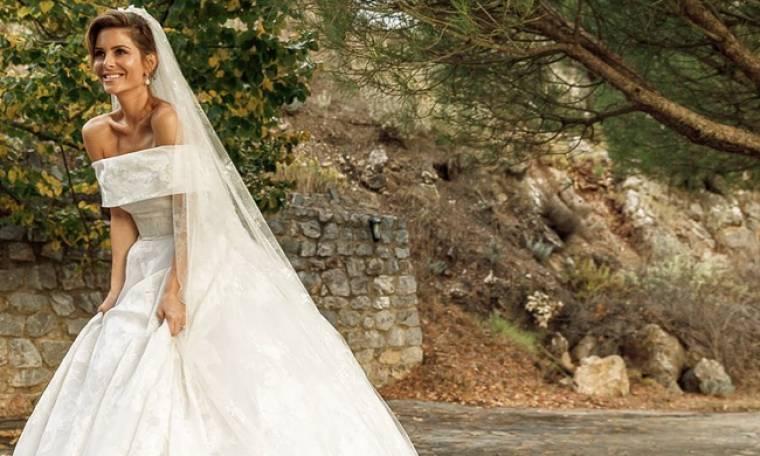 Μαρία Μενούνος: Εκπλήρωσε το τάμα της στο Μοναστήρι της Παναγίας Μαλεβής λίγο πριν τον γάμο της