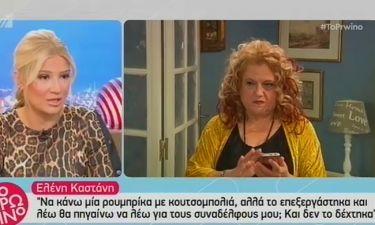 Ελένη Καστάνη: «Είχα δεχθεί προτάσεις για πρωινές εκπομπές»