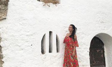 Μαρία Κορινθίου: Η φωτογραφία από την Κρήτη και η σύμπτωση!