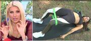 Ελένη: Η Κολιδά δείχνει ασκήσεις για ανόρθωση γλουτών και δείτε την ατάκα της παρουσιάστριας!