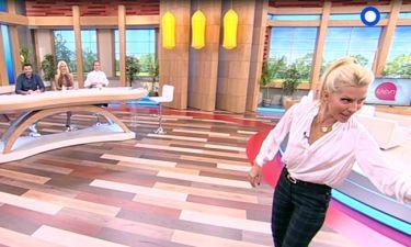 Ελένη: Την έσπρωξε ο συνεργάτης της και του τα έχωσε  on air!