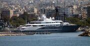 Tο Mega Yacht του εμίρη του Ντουμπάι στον Φλοίσβο