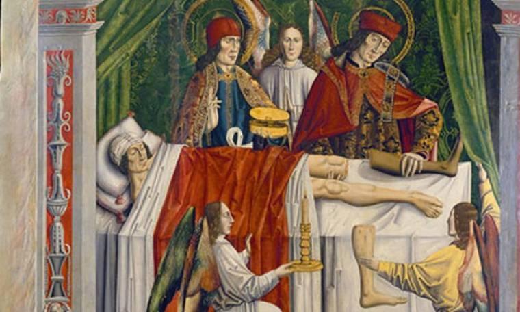 Πώς οι Άγιοι Ανάργυροι έκαναν την πρώτη μεταμόσχευση στον κόσμο