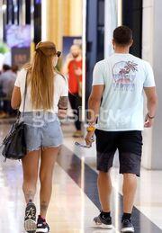 Ευρυδίκη Βαλαβάνη - Κωνσταντίνος Βασάλος: Το ζευγάρι βγήκε για ψώνια