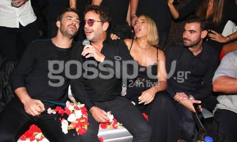 Τα... έσπασαν οι celebrities στο opening του Σαμπάνη!