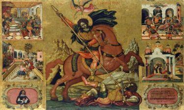Αγιος Δημήτριος: Ποιον σκοτώνει στη γνωστή εικόνα του;