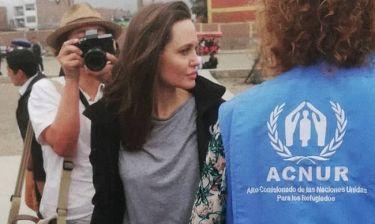Aντζελίνα Τζολί: Δεν είναι με τον Κιάνου Ριβς, είναι με τους πρόσφυγες