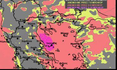 Εκτακτη προειδοποίηση του Σάκη Αρναούτογλου - Προσοχή τις επόμενες 24 ώρες... (χάρτες)