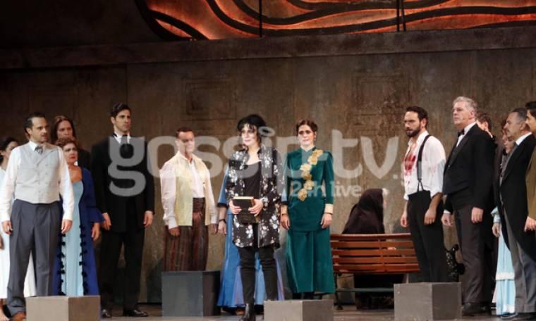 Ποιους είδαμε στην εντυπωσιακή πρεμιέρα της παράστασης «Οι Μάγισσες της Σμύρνης»;