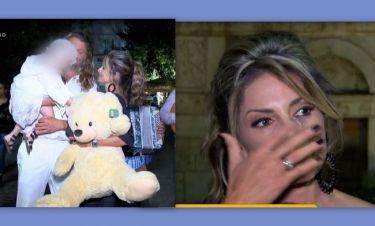 Λάσπα – Νικολόπουλος: Τα πρώτα πλάνα από τη βάφτιση της κόρης τους - Τα δάκρυα της Κατερίνας
