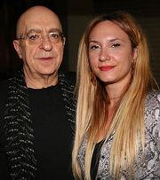 Πάνος Κοκκινόπουλος: Πρώτη δημόσια εμφάνιση με την 34χρονη σύντροφό του