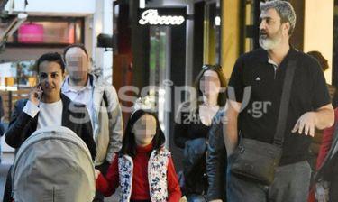 Λαφαζάνη-Οικονόμου: Οικογενειακή βόλτα στην Κηφισιά!