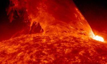 Απίστευτο βίντεο της NASA με τεράστια έκρηξη στον Ήλιο