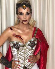 Αλβάρο Ντε Μιράντα Νέτο – Ντενίζ Σεβέρο: Δείτε πώς μεταμφιέστηκαν για το Halloween