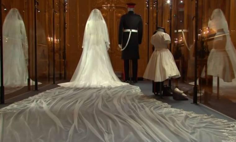 Μέγκαν Μαρκλ: Σε έκθεση το νυφικό της στο Windsor Castle