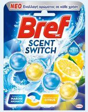 Bref Scent Switch: 2 αρώματα σε 1 μπλοκ, για φρεσκάδα και καθαριότητα που διαρκεί!