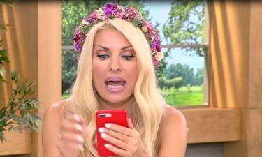 Ελένη: Το λάθος στην εκπομπή της και το μήνυμα, που έλαβε on air – Τι συνέβη;