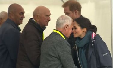 Μέγκαν Μαρκλ - Πρίγκιπας Χάρι: Χαιρετισμός μύτη με μύτη με τους Μαορί της Νέας Ζηλανδίας