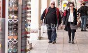 Δημήτρης Πιατάς: Σπάνια εμφάνιση με την σύζυγό του