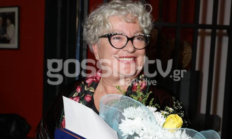 Τάνια Τσανακλίδου: Χαμόγελα ευτυχίας για τη βράβευσή της!