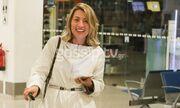 Μαρία Ηλιάκη: Επέστρεψε στην Αθήνα και είναι μες την τρελή χαρά