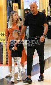 Δημήτρης Σκουλός: Δείτε για πρώτη φορά τη γυναίκα και τη κόρη του