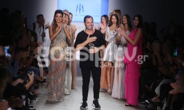 O Tassos Mitropoulos εντυπωσίασε για άλλη μια φορά στην Ελληνική Εβδομάδα Μόδας