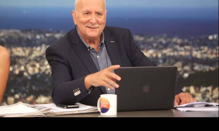 Τηλεθέαση: Ξανά στην κορυφή ο Γιώργος Παπαδάκης με το «Καλημέρα Ελλάδα»