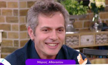 Αθανασίου: «Η σύντροφός μου είναι καθημερινά στα γυρίσματα, ελέγχει όλες τις σκηνές με τη Ματσούκα»