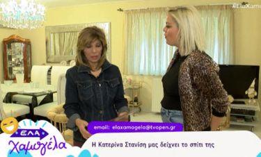 Κατερίνα Στανίση: Η ξενάγηση στο σπίτι της, ο Τουίτι της κόρης της Τάμτα και τα… κειμήλια!