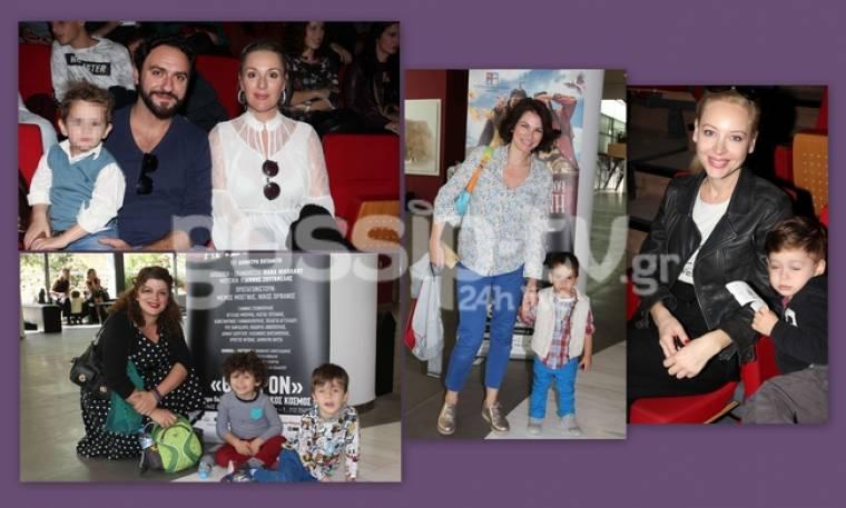 Διάσημοι γονείς στο θέατρο με τα παιδιά τους!