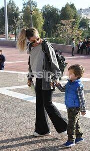 Σύβλια Δεληκούρα: Χαλαρές στιγμές με τον γιο της, Ορφέα!