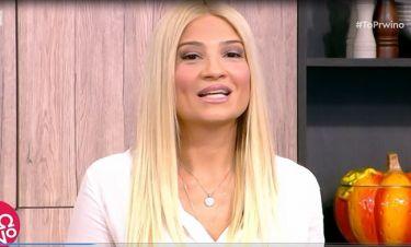 Φαίη Σκορδά: Η ανακοίνωση on air για το πρόβλημα υγείας της Λίτσας Πατέρα