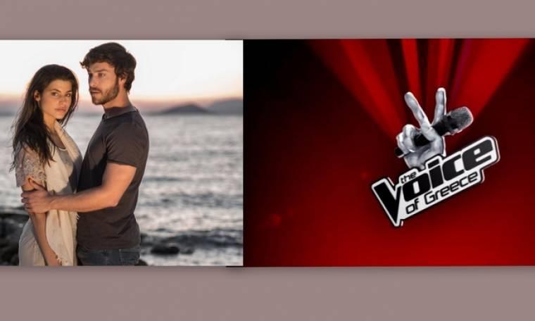 Τηλεθέαση: Voice Vs Τατουάζ:  And the winner is…