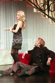 Η αποκαλυπτική εμφάνιση της Χριστίνα Ψάλτη στο θεατρικό σανίδι
