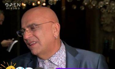 Γιάννης Ζουγανέλης: Δείτε πώς αντέδρασε on camera όταν τον ρώτησαν για τον χωρισμό της κόρης του