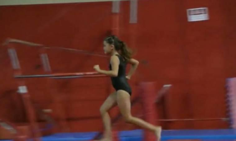 Όταν μικρά παιδιά προετοιμάζονται για τους… Ολυμπιακούς Αγώνες (vid)