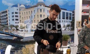 Τιμολέων Διαμαντής: Ο νικητής του Master Chef, αν και πεζοναύτης πήγε να μαγειρέψει στη Θεσσαλονίκη!