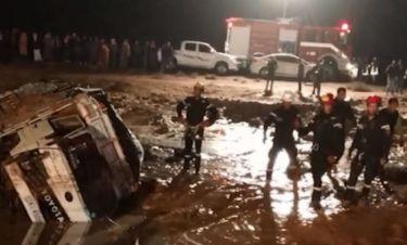 Σφοδρές πλημμύρες στην Ιορδανία: Εκκενώνεται η αρχαία πόλη της Πέτρας (vid)