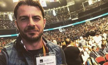 Γιώργος Αγγελόπουλος: Δείτε με ποια star του Hollywood έβγαλε φωτογραφία