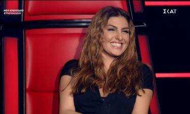 The Voice: Η ατάκα του Μουζουράκη που έκανε την Παπαρίζου να ξεσπάσει σε γέλια