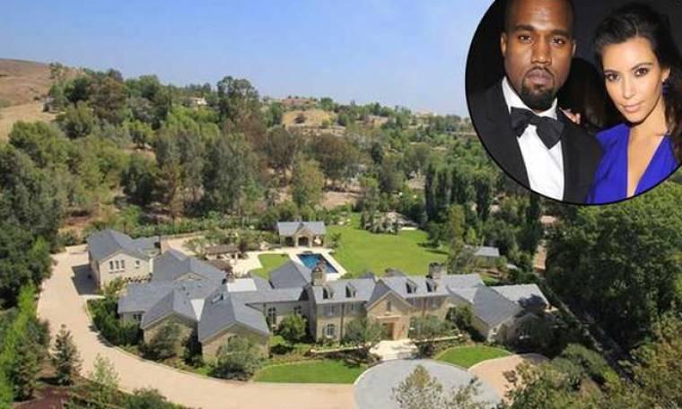 Kim- Kanye: Προσέλαβαν ιδιωτικούς πυροσβέστες για να σώσουν το σπίτι τους