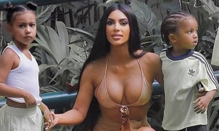 Θύελλα αντιδράσεων! Η Kim Kardashian έκανε photoshop σε φωτογραφία της 5χρονης κόρης της!