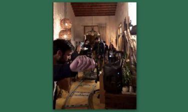 Ανδρέας Γεωργίου: Το κορίτσι του τον βιντεοσκοπεί όταν χορεύει στα backstage του «Τατουάζ»